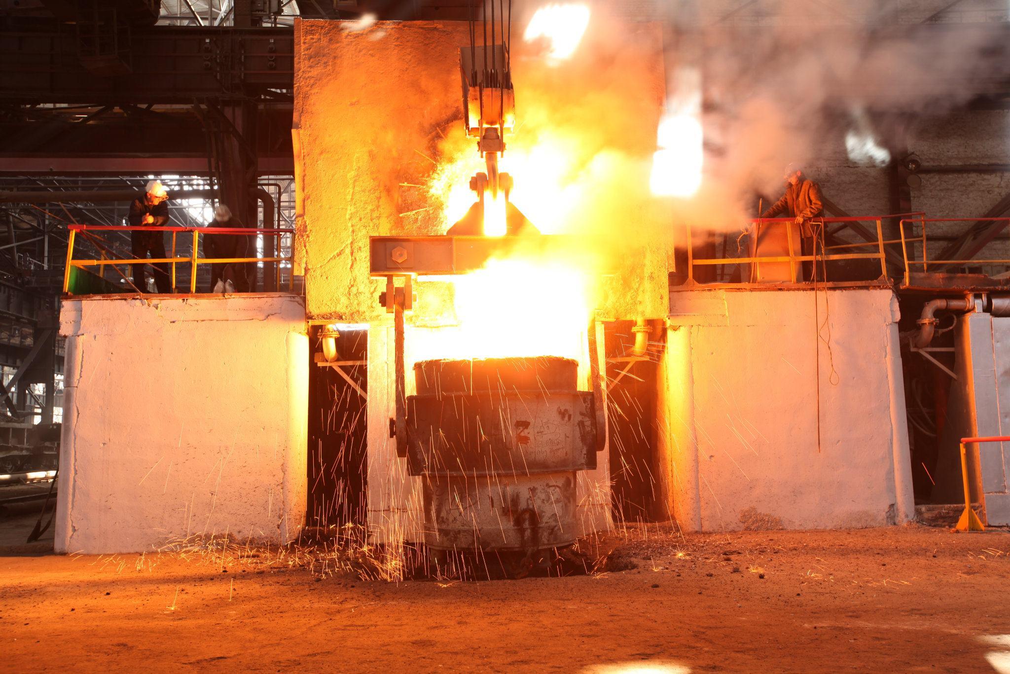Steel Melting Shop And Reinforcing Bar Shop Rustavi